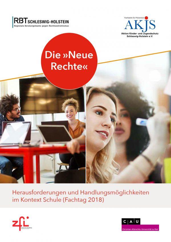 """Titelbild Broschüre Die """"Neue Rechte"""""""