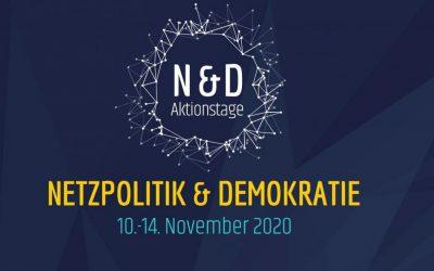 Aktionstage Netzpolitik