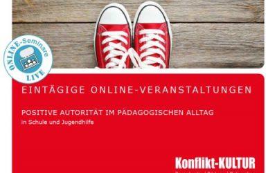 Positive Autorität in Schule und Jugendhilfe – Online-Tagesseminare